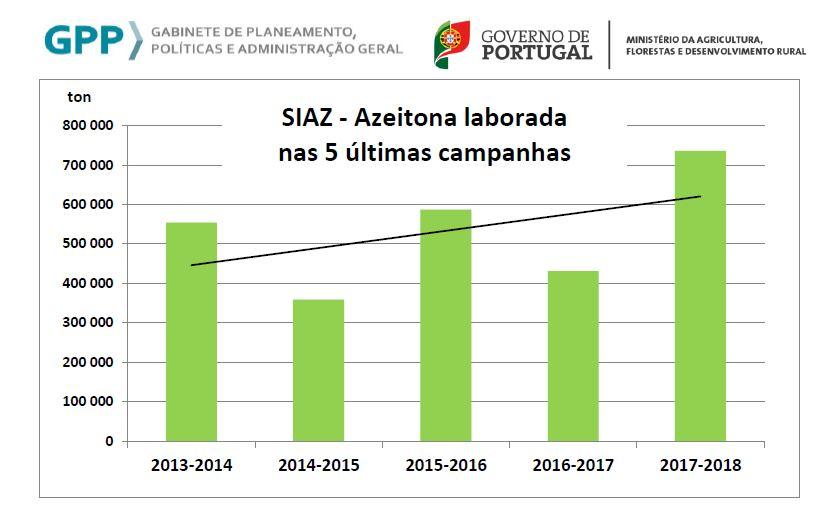 Azeitona 5 campanhas